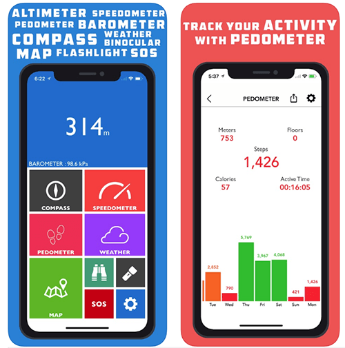 Altitude Apps Altimeter