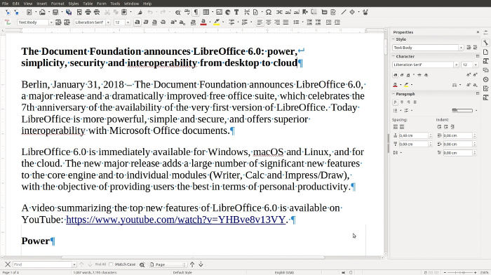 Best Open Source Software 2019 Libreoffice