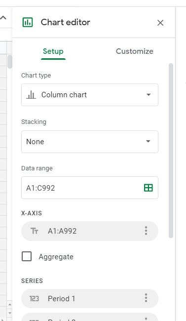 Chart Google Slides Chart Editor