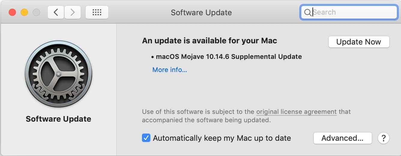 Fix Mac Keyboard Update