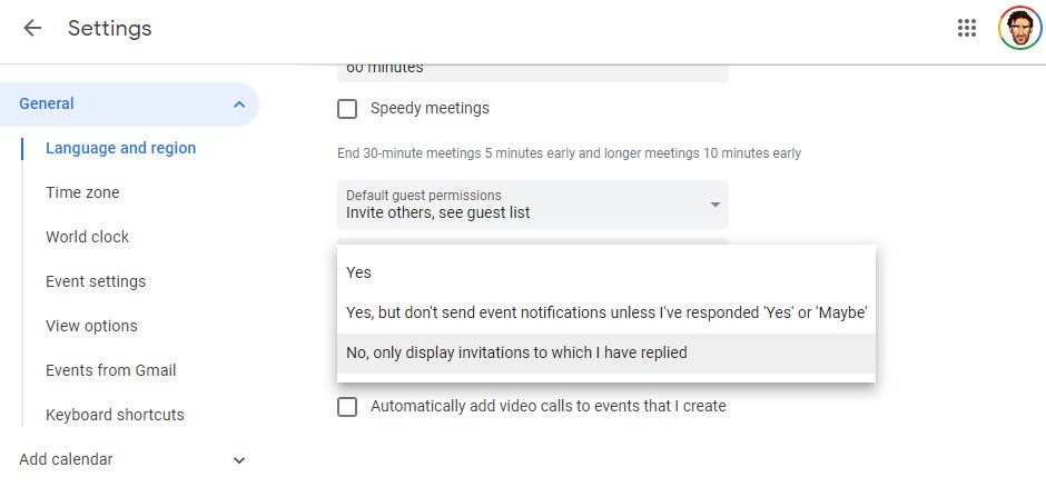 How to Get Rid of Spam in Google Calendar - Make Tech Easier