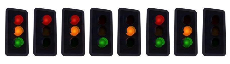 Ionice Traffic Lights
