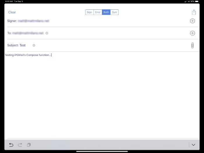 Ipgmail Compose