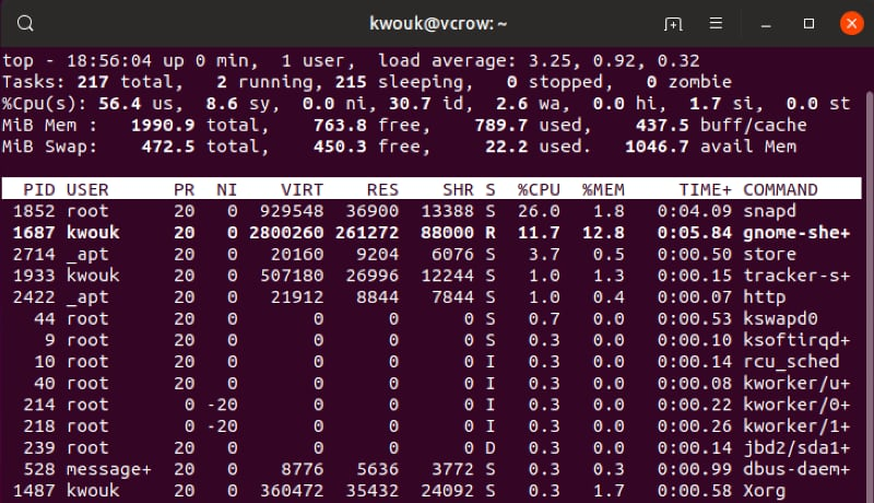 Linux Fix High Memory Usage Top