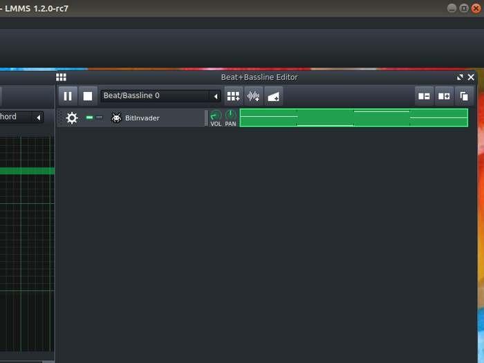 Lmms Song Editor Play