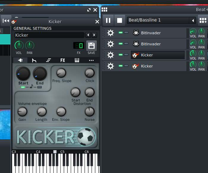 Lmms Song Kicker Settings 1