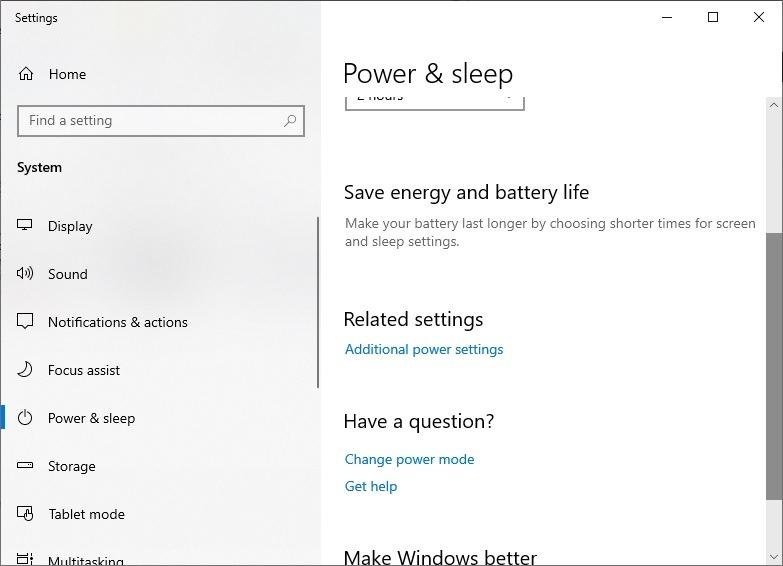 Mount Ntfs From Linux Open Windows Power Settings