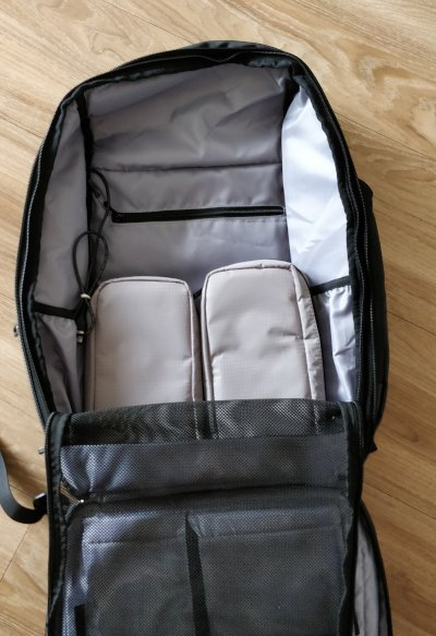 Nayosmart Almighty Backpack Clothing Compartment