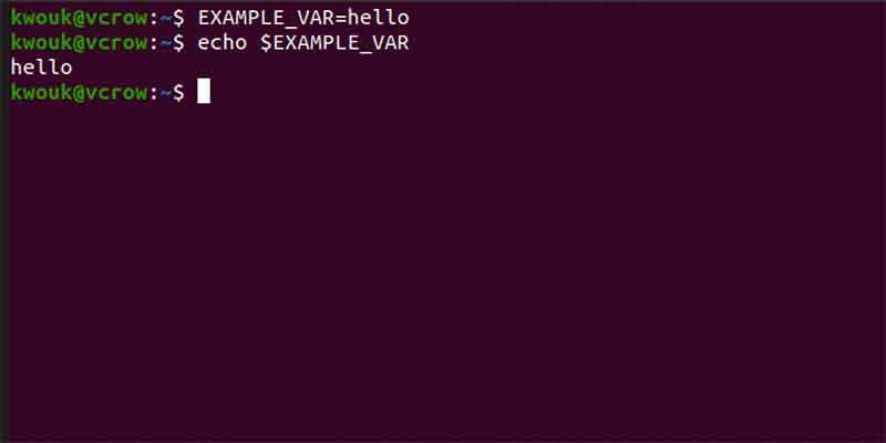 Set List Environment Variables Linux Set