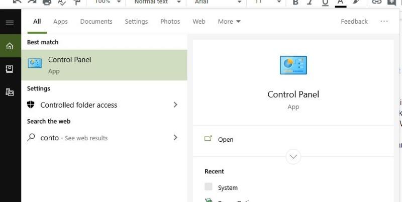 Chrome Black Screen Uninstall Control Panel Icon