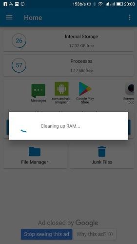 Clean Up Ram Memory Optimizer App