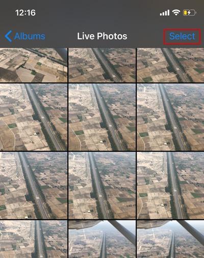 Combine Live Photos Ios Select