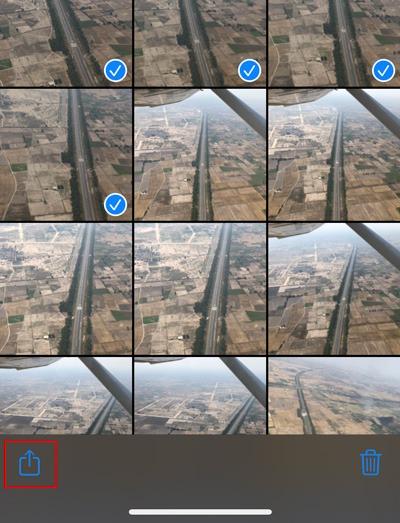 Combine Live Photos Ios Share Button