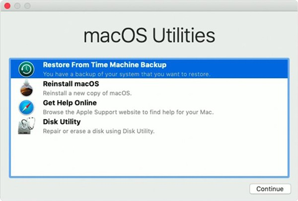 Downgrade Macos Restore Fromtime Machine