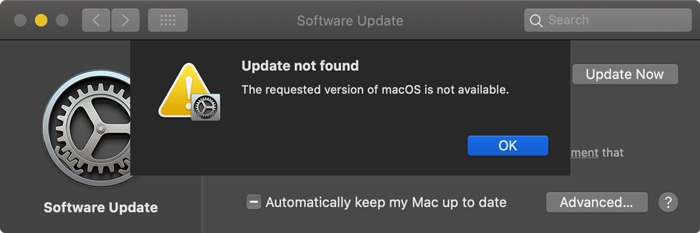 Download Macos Installers Not Available