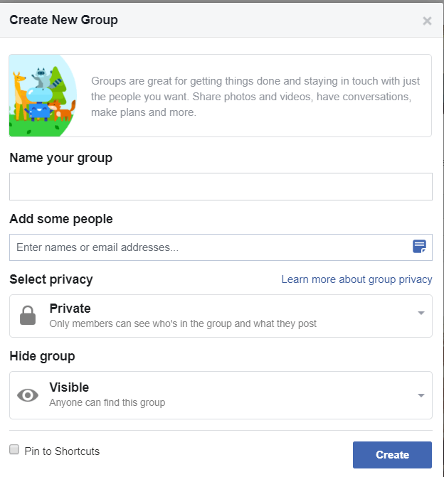 Facebook Groups Basic Information