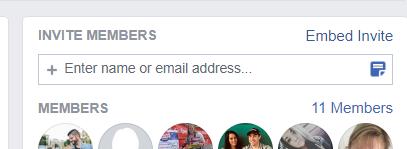 Facebook Groups Members List