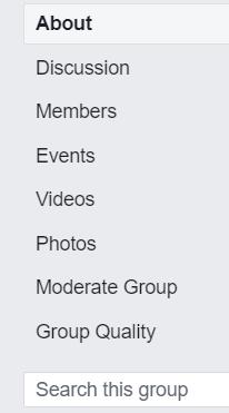 Facebook Groups Moderate
