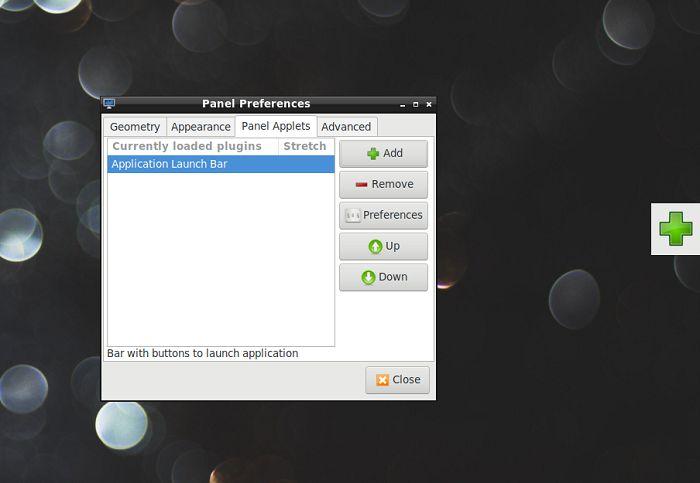 Lxde Panels As Launchers Application Launch Bar Plus Button
