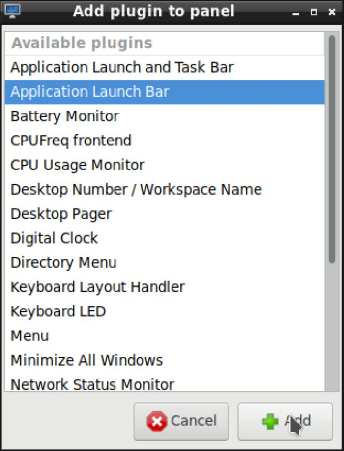Lxde Panels As Launchers Application Launch Bar
