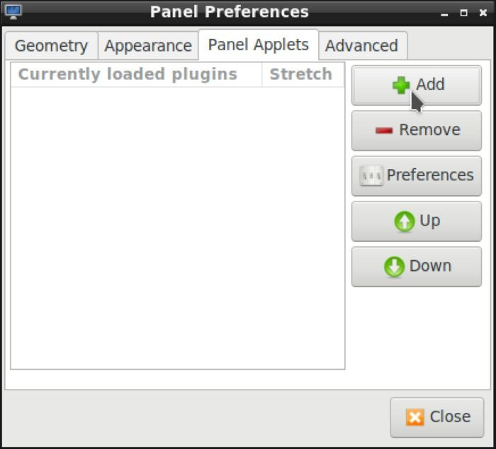 Lxde Panels As Launchers Panel Applets