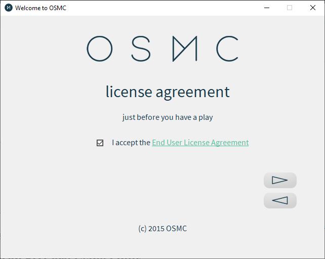 Osmc Installer License Agreement
