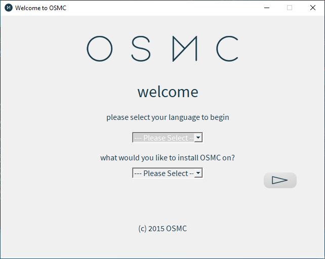 Osmc Installer Screen