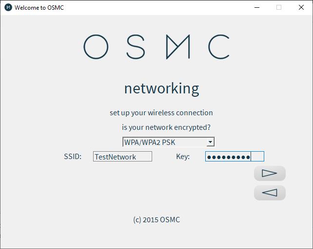 Osmc Installer Wireless Network Options