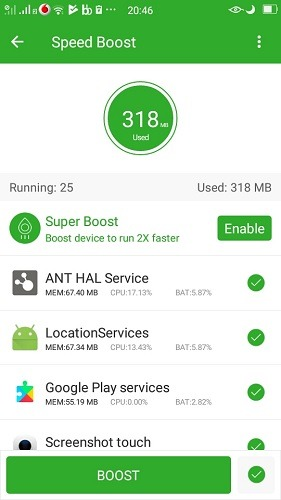 Speed Boost Memory Booster