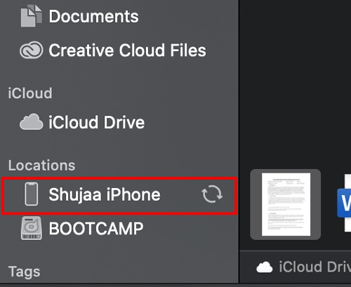 Sync Ios Device Catalina Device Finder