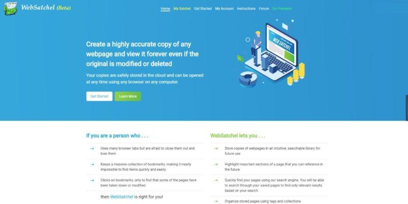 Web Satchel Featured