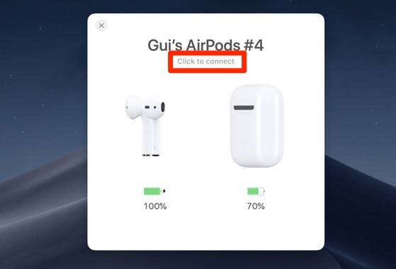 Connect Airpods To Mac Airbuddy Connect