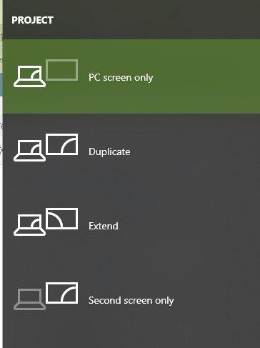Dual Monitors Issues Display Options