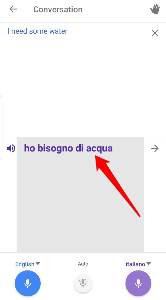 Google Translate App Conversation Speak Translation