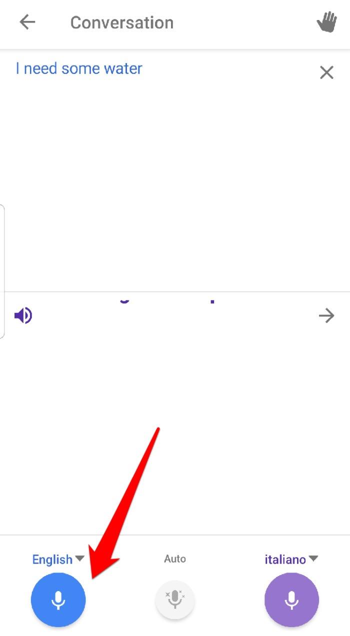 Google Translate App Conversation Speak