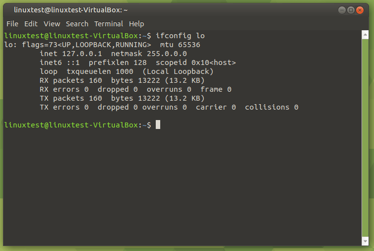 Ifconfig Interface Name