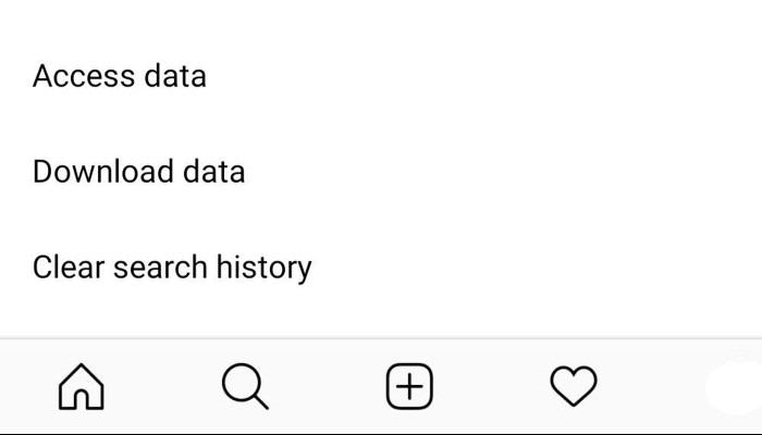 Instagram Clearhistory