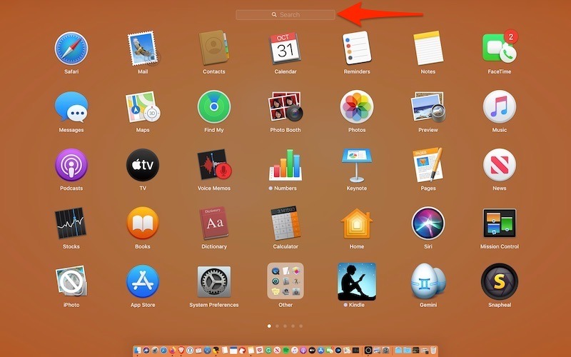Make Launchpad For Mac More Useful Search