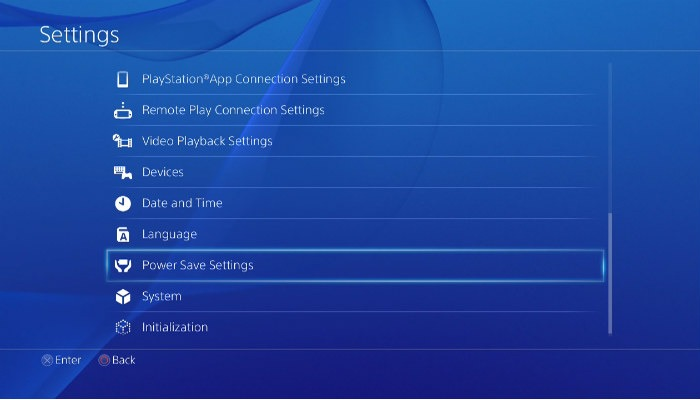 Ps4 Controller Battery Settings
