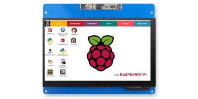 Raspberry Pi Touch Screen Featured