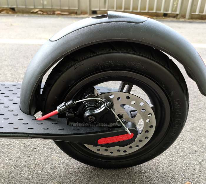 Turboant X7 Rear Wheel Mudguard