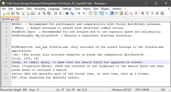 Automate Windows With Ahk Your First Script