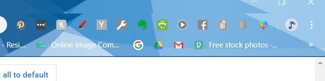 Hide Extensions Chrome Before Extension Hide