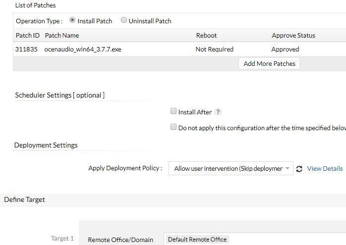 Install Ocenaudio Patch Patch Manager Plus