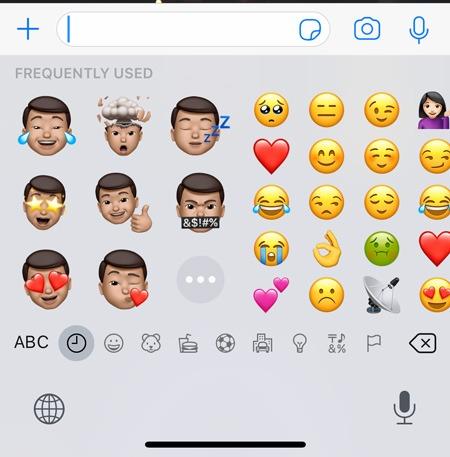Memoji Stickers Ios Keyboard
