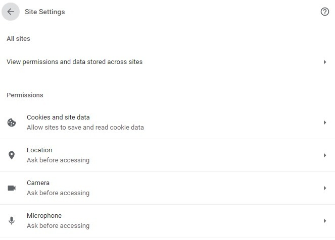 Optimize Site Settings