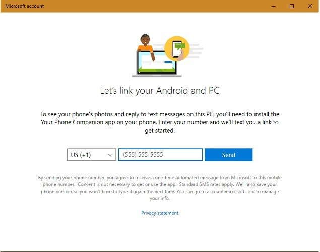 Phone Number Link Your Phone App Android