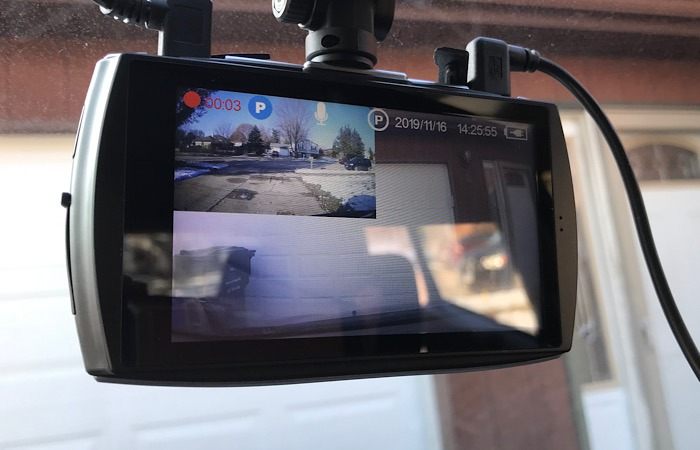 Review T4 Dash Cam Pip