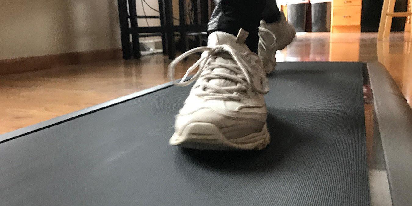 Take Your Walk Indoors with WalkingPad A1 Foldable Treadmill ...