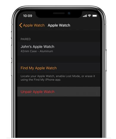 Sell Apple Watch Unpair Device